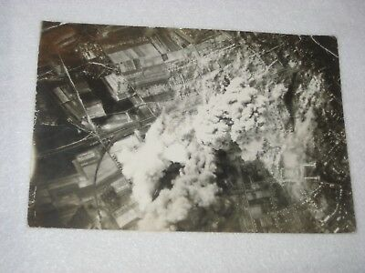 WWII Bombing Pictures - lot of two Original Pictures  464th Bomb group B-24's