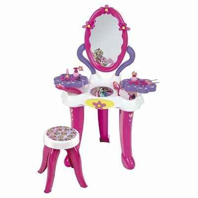 NEW Barbie Beauty Studio Vanity Dressing Table With Stool & Accessories