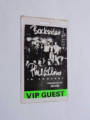 1994 Phil Collins 1990 Both Sides Tour Laminated Backstage Pass ! Vip Guest L@@k