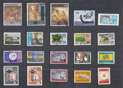 y2533 Ceylon Sri-Lanker / A Small Collection  Early & Modern Used