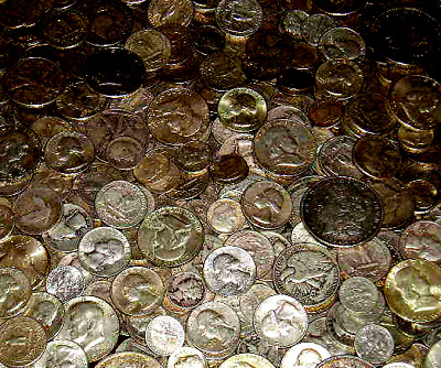 Full 1/2 pound (8-U.S. Ounces) All Coins Minted Containing 90% Silver