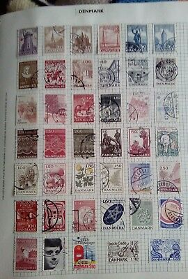 Stamps Used Mm Denmark