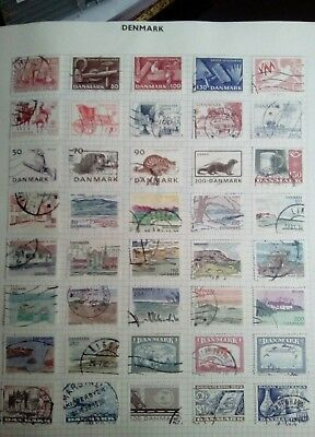 Stamps Used Mm Denmark B