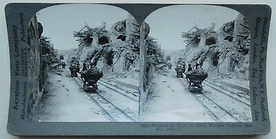 Stereoviews x 3-ITALY, Messina in Sicily and earthquake damage of 1908