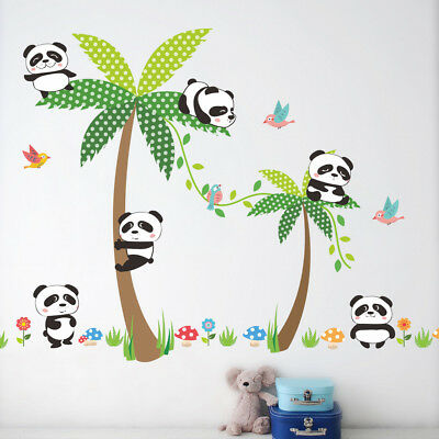 CHILDRENS WALL STICKERS Mickey Mouse Kids Bedroom Decoration Baby ...