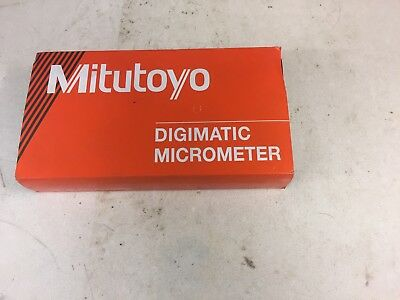 """Mitutoyo Digital Micrometer 0-1"""" (Metric also but spindle is imperial)"""