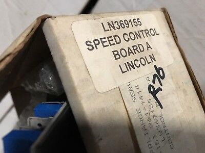 Lincoln Oven Conveyor Motor Speed Control Board 369155