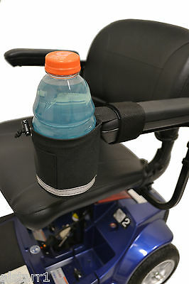 Diestco Nonbreakable Cup holders for Power Wheelchairs A 1328 Front Mount Grip