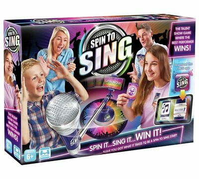 Spin To Sing Game . Brand New.