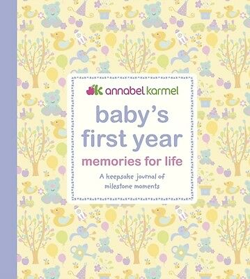 Baby's First Year Memories for Life: A keepsake journal of milestone moments (B.