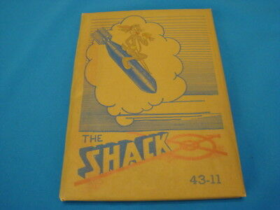 The Shack Bombardier Aviation YEARBOOK Book San Angelo Texas Army Air Field 1943