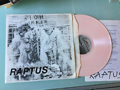 LP PINK 1983 VA RAPTUS 1 Italian KBD HC Comp Raw Power/Uart Punk