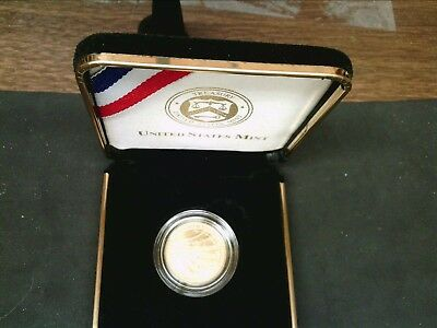 2012 Star-Spangled Banner Uncirculated $5.00 Gold Coin--U.S. Mint