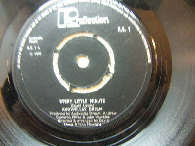 "Andwellas Dream – Every Little Minute 1970 7"" Reflection R.S.1"