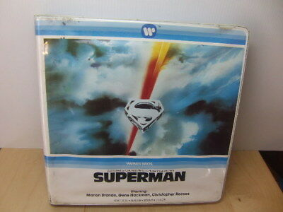 Superman – 400' Super 8 Sound Colour Film in plastic Box Warner Bros 1978 movie