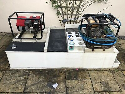 MOBILE VALETING VAN / ALL YOU NEED TO GET STRTED 1000 Ltr Tank And Generator