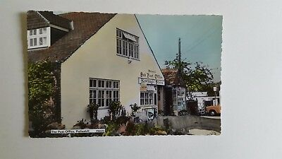 Vintage Postcard - The Post Office Pulloxhill Bedfordshire - RP - Colour c.1960'
