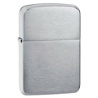 Zippo 1941 Replica Brushed Chrome Lighter 1941