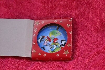 """Universal Studios Woody Woodpecker and Friends """"Peace on Earth"""" Christmas orname"""