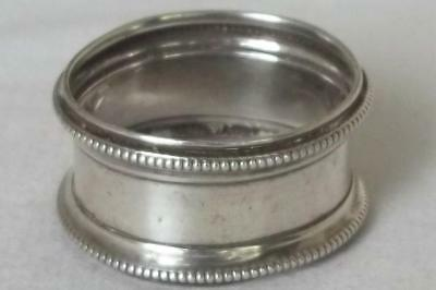 A Fine Antique Solid Sterling Silver Napkin Ring Sheffield 1912.