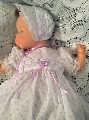"Doll Clothes for 19""/20"" Large Thumbelina ""Lovely in Lilac Dress Set"" by Maureen"