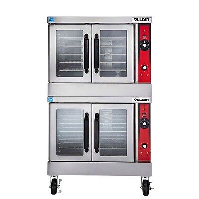 Gas Convection Oven, Double Deck, Solid State Controls, 44K BTU, Vulcan VC44GD