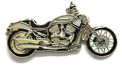Harley Davidson Original V Rod Enamel Collector Pin Badge from Fat Skeleton
