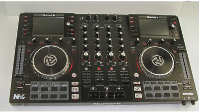 Numark NV Dual-Display DJ Controller Serato 4 Channel Mixer