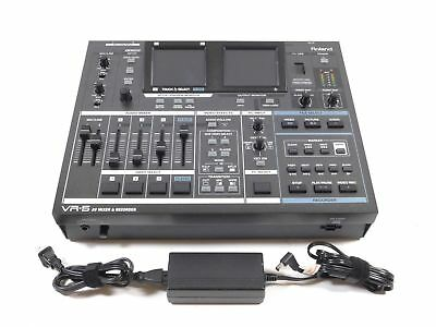 Roland VR-5 AV Video Mixer Recorder Switcher VR5