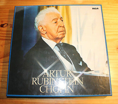 RUBINSTEIN plays CHOPIN 12-LP-Box RCA