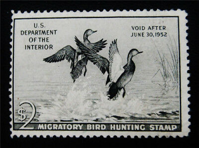 nystamps US Duck Stamp # RW18 Mint $90
