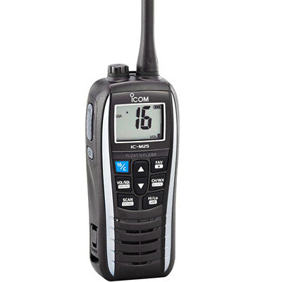 Icom M25 Floating VHF - 5W - Pearl White Part # M25 41