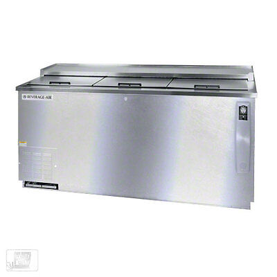 Bottle Cooler, Stainless steel top and front, Beverage-Air Model DW79-S
