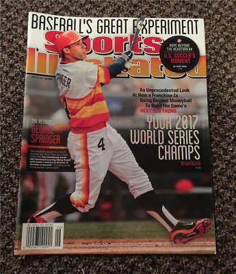 June 30, 2014 SPORTS ILLUSTRATED MAGAZINE ASTROS 2017 WORLD SERIES NO LABEL LOOK