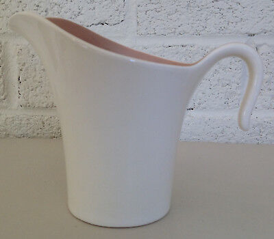 Mid Century OLYMPIC CREAMER Tan Beige Cocoa Pink HARKER WARE SPRINGTIME Dogwood