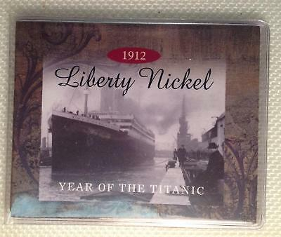 First Commemorative Mint: 1912 Liberty or V Nickel Year of the Titanic's Loss