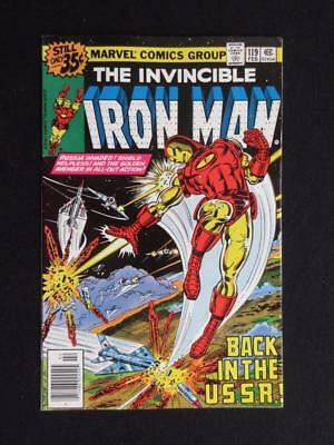 Iron Man #119 MARVEL 1979 - NEAR MINT 9.4 NM - John Romita Jr. Stan Lee comics!