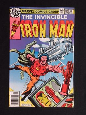 Iron Man #118 MARVEL 1979 - NEAR MINT 9.2 NM - 1st app Jim Rhodes - Stan Lee!!