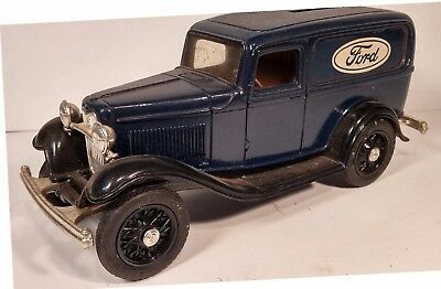 Ertl 1932 Ford Delivery Van Bank, 1:24 Scale, Die Cast Construction