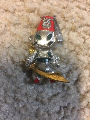 Vintage Shriner Lapel Pin Jeweled