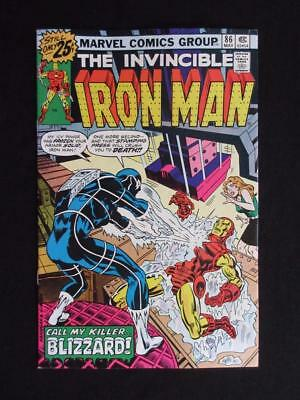 Iron Man #86 MARVEL 1976 - NEAR MINT 9.0 NM - 1st app Blizzard - Tony Stark!!!!