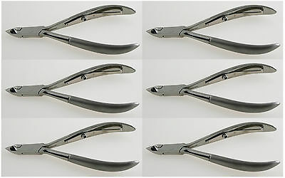 Lot of 6 Cuticle Nippers NEW Nail Skin Care Beauty Tools Podiatry Instruments