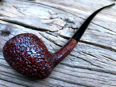 Road Town Briar wood pipe Church Warden Pipe ---- unsmoked