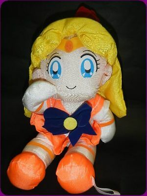 Sailor Moon TafuTafu Plush doll relax pose Banpresto in Japan RARE!!Venus