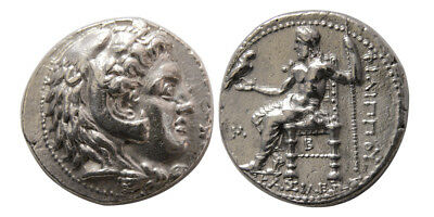 PCW-G6099-KINGS of MACEDON, Philip III, Arrhidaeus. 323-317 BC. AR Tetradrachm.