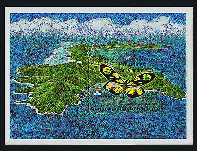 St Vincent Grenadines 894 MNH Butterfly