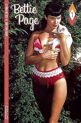 BETTIE PAGE #1, COVER D, New, First print, Dynamite (2017)
