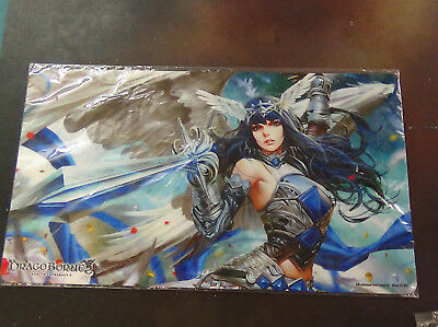 1 x DragoBorne Rise to Supremacy Playmat Rally to War NEW SEALED