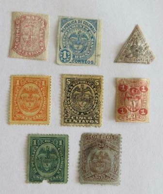 Columbia 1865 - 92 small collection unused
