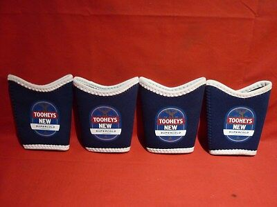 4 Tooheys New Supercold Neoprene Bottle Can Coolers New